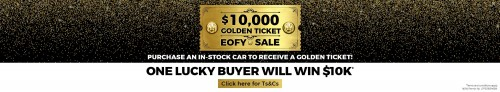 Golden Ticket Sale