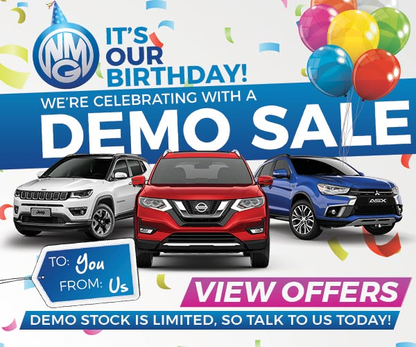Birthday Demo Sale