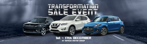 Transformation Sale Event